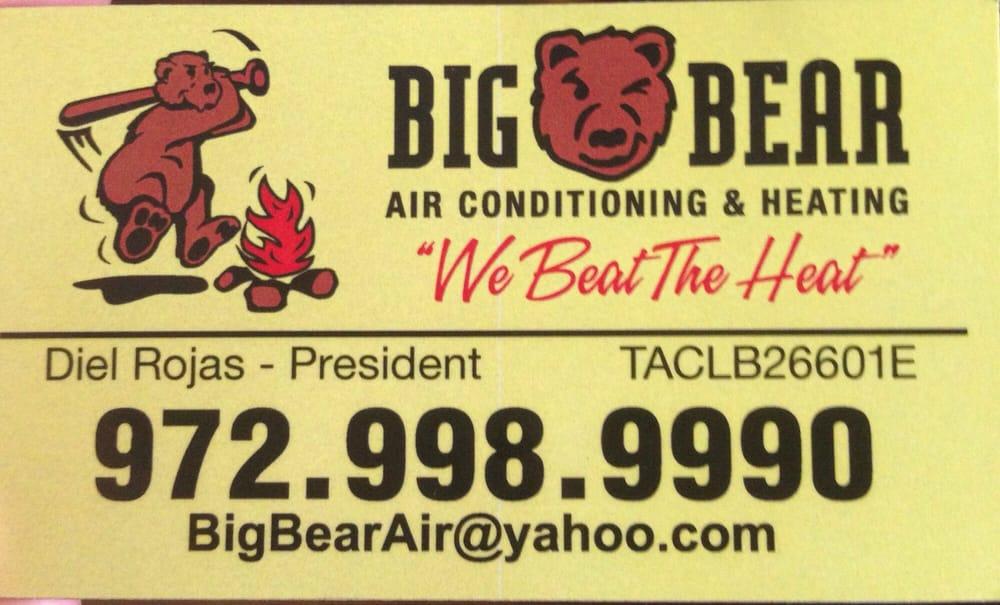 Big Bear A/C & Heating: 122 Rose Ln, Frisco, TX