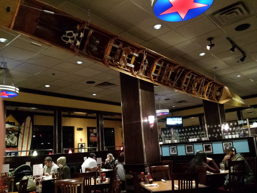 Photo Of Tgi Fridays Clifton Nj United States Huge Canoe Like Boat