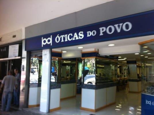 4701e63c5476d Óticas do Povo - Eyewear   Opticians - Av. Afonso Pena 1452