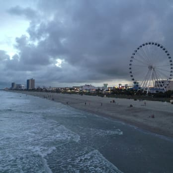 Photo Of Pier 14 Fishing Myrtle Beach Sc United States View