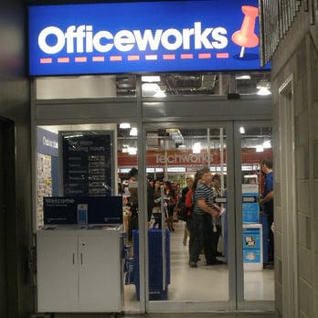 Officeworks  Office Equipment  271275 Russell St Melbourne