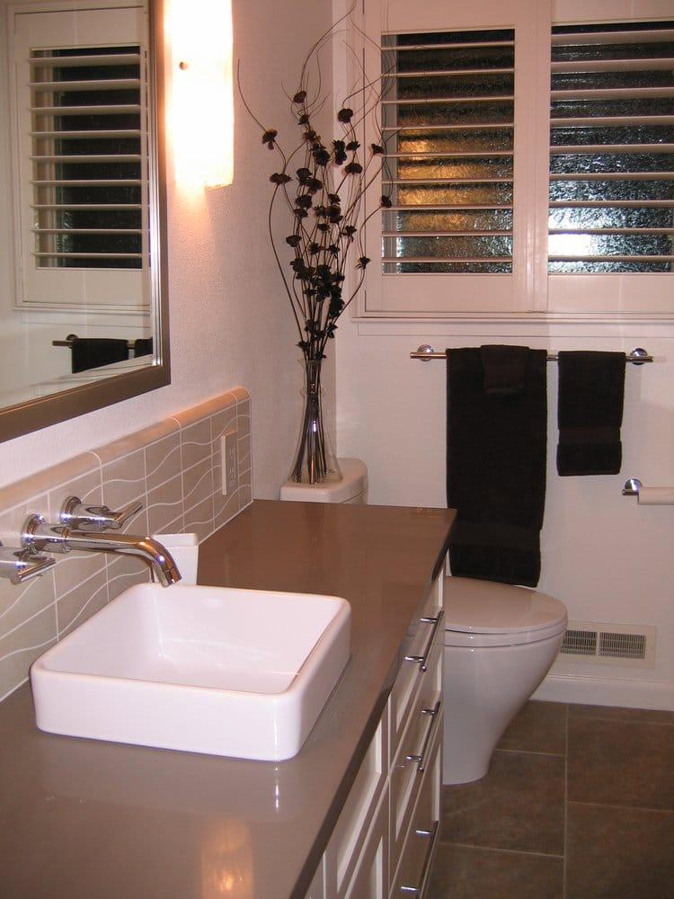 Master bath countertop sink faucets yelp for Bathroom fixtures san jose