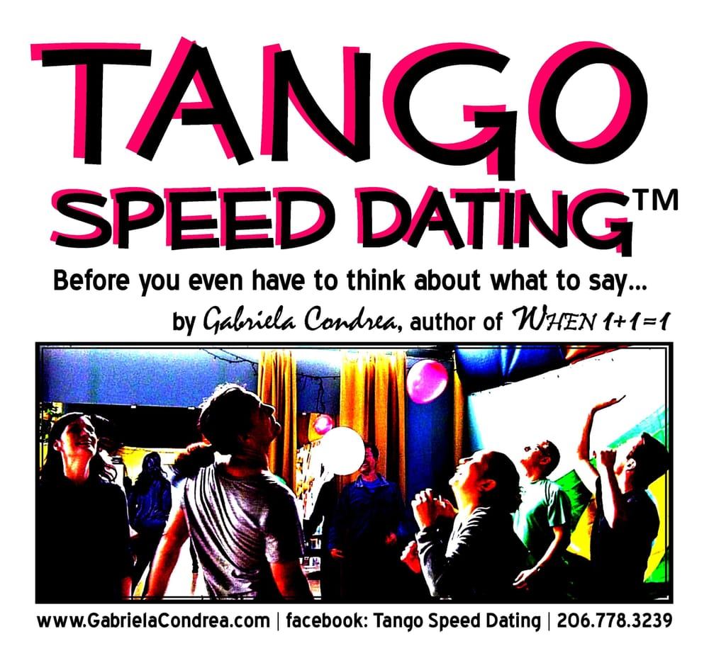 Free speed dating seattle