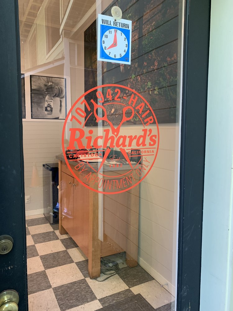 Richard's Barber Shop: 1227 Lincoln Ave, Calistoga, CA
