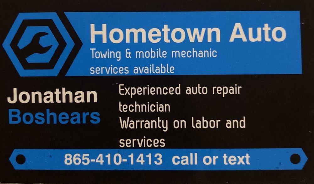 Hometown Auto Mobile Mechanic & Towing: 602 Hassler Mill Rd, Harriman, TN