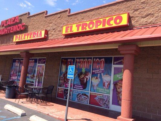 El Tropico Paleteria 9601 Sage Rd Sw Albuquerque Nm Ice Cream
