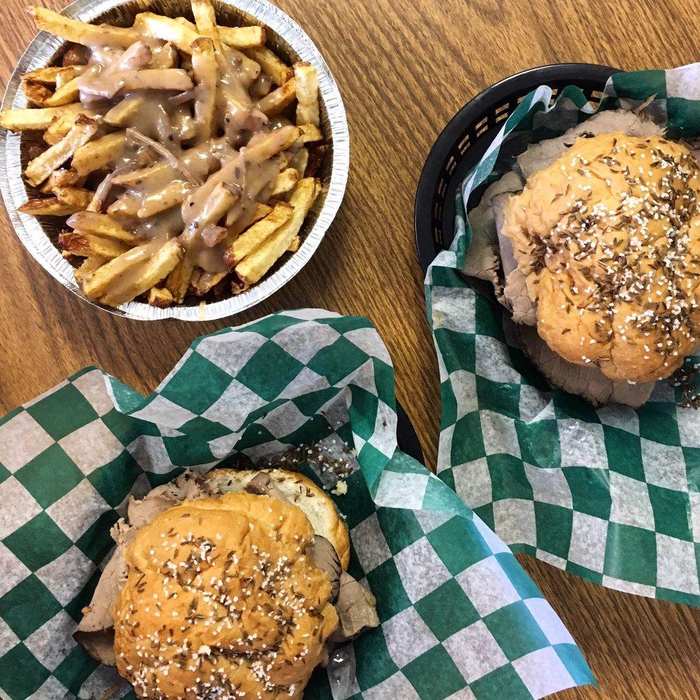 Salmich's Burgers & Hoagies: 1371 E Little Creek Rd, Norfolk, VA