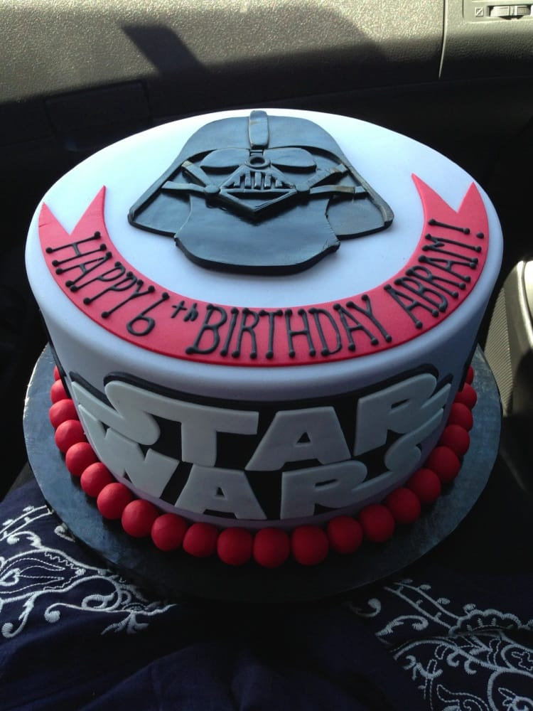 My Sons Star Wars Birthday Cake Yelp