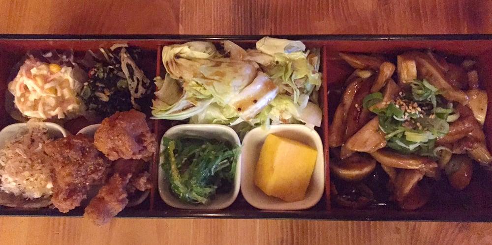 Bento box yelp for Tsukiji fish market chicago