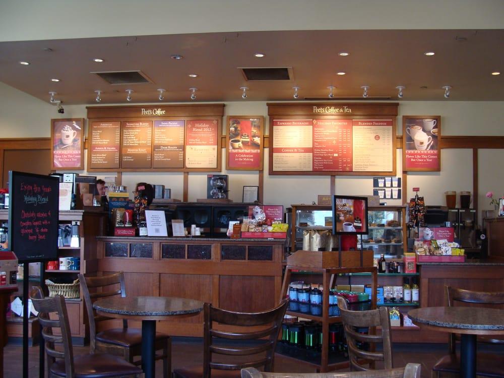 Interior Of Peet S Coffee Shop Yelp