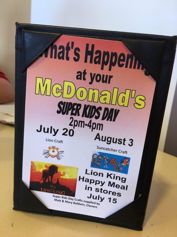 McDonald's: 500 E Main, Henryetta, OK