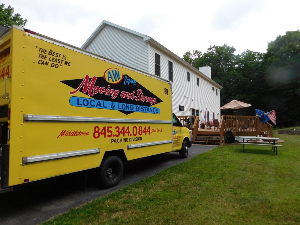 A W Express Moving & Storage: 130 Wickham Ave, Middletown, NY