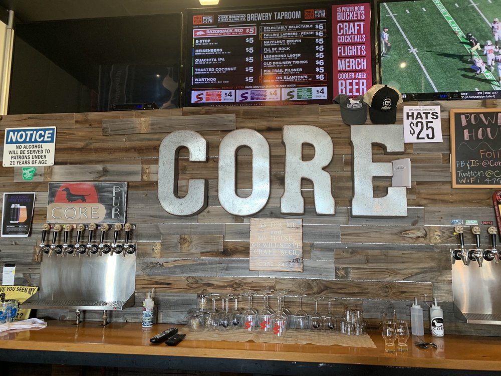 Core Brewing Co.: 2470 Lowell Rd, Springdale, AR