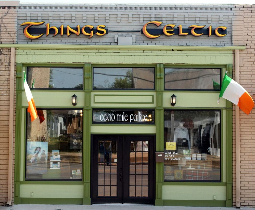 Things Celtic: 115 E Blackjack St, Dublin, TX