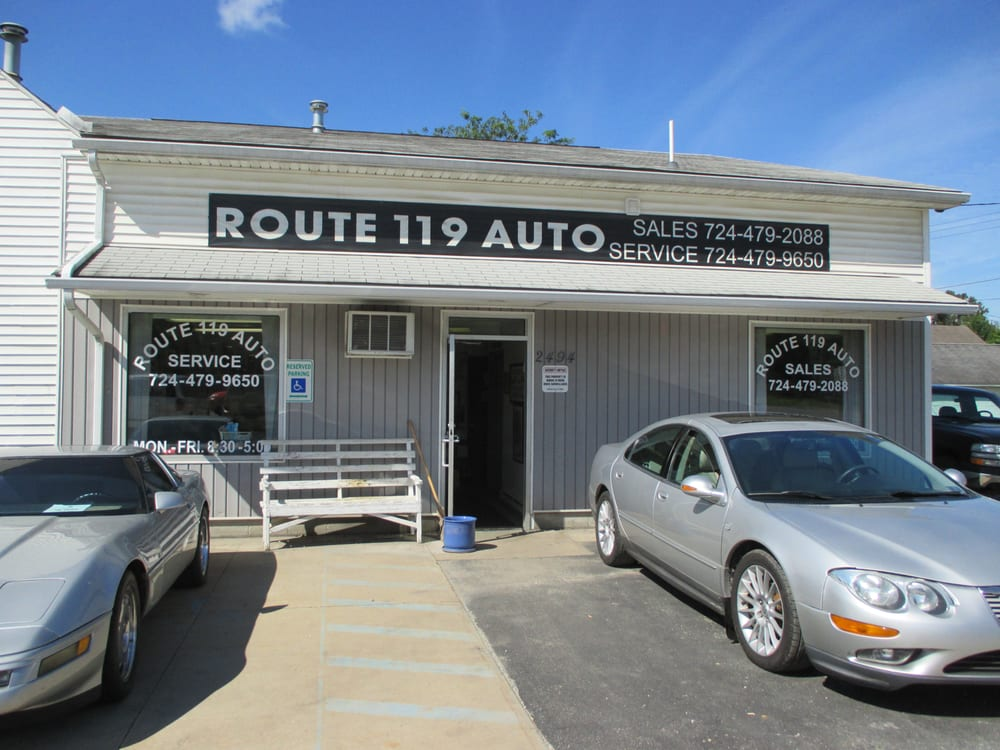 Route 119 Auto Sales & Service: 2494 Rt 119, Homer City, PA