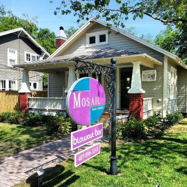 Mosaic Hair Studio & Blowout Bar: 541 Virginia Dr, Orlando, FL