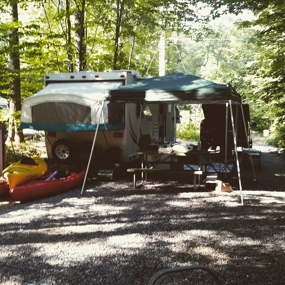 Ames Brook Campground: 104 Winona Rd, Ashland, NH