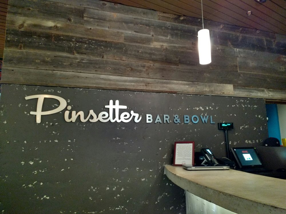 Pinsetter Bar & Bowl