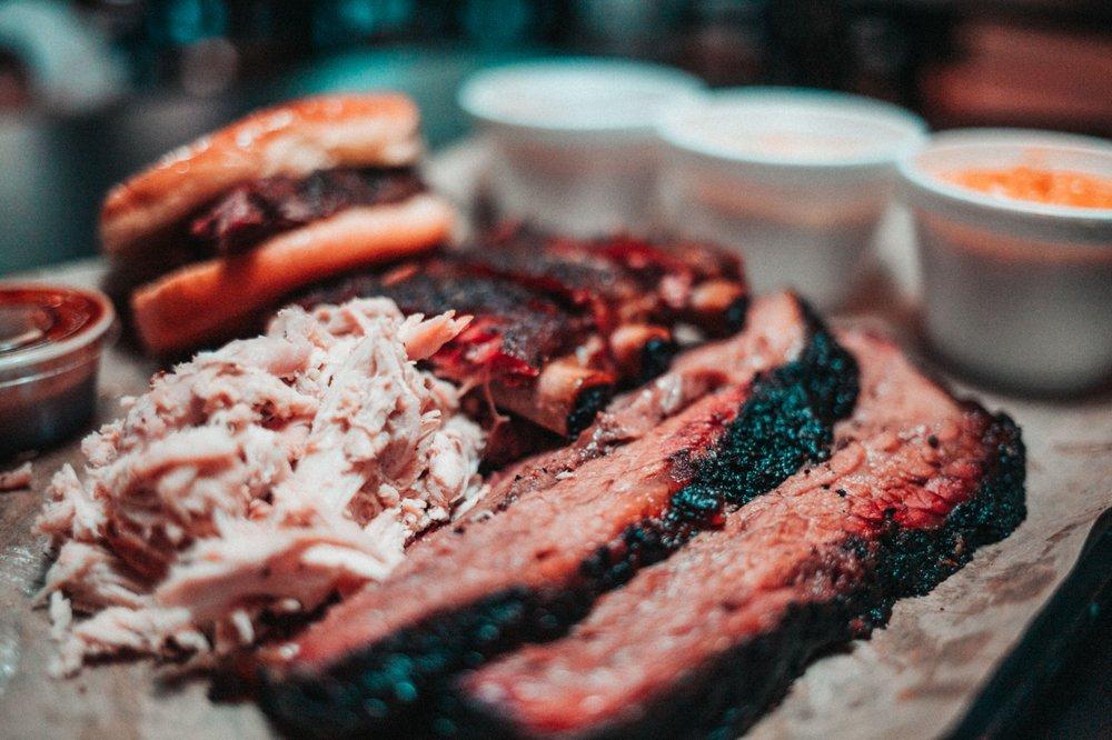 Jousting Pigs BBQ: 110 E Kansas St, Liberty, MO