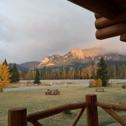Photo Of Pocahontas Cabins   Jasper, AB, Canada. View From Our Cabin