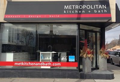 METROPOLITAN Kitchen Bath Contractors The Queensway - Metropolitan kitchen and bath