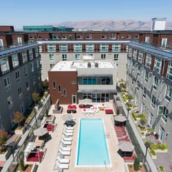 Photo Of Domain Apartments   San Jose, CA, United States. Aerial View Of