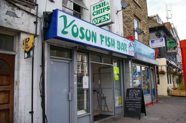 Yosun fish bar fish chips 14 clapham high street for Louisiana fish bar