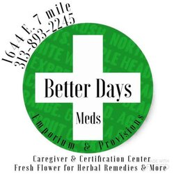 Better Days Provision Center - Cannabis Clinics - 1644 E 7