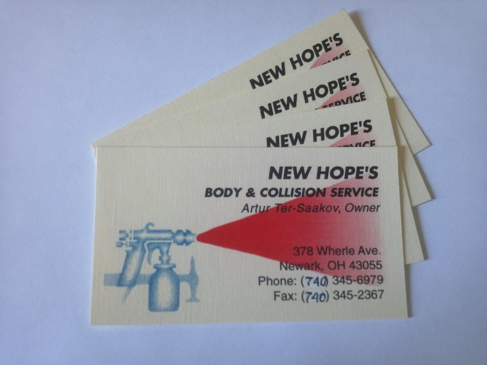 New Hopes Body & Collision Service