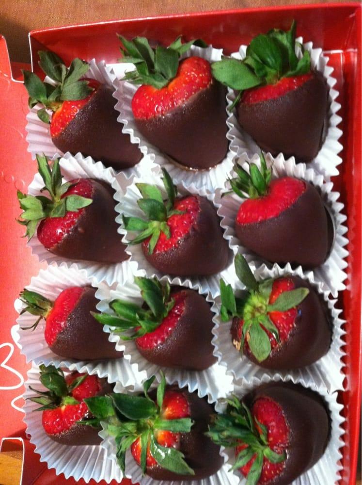 Large Chocolate Dipped Strawberries Yelp