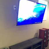 Photo Of Ideal Tv Installation Atlanta Ga United States Downstairs Install