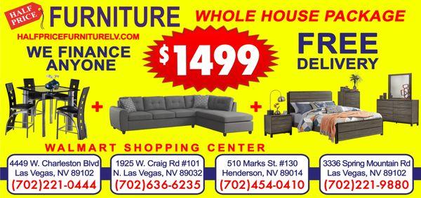 Half Price Furniture 1925 W Craig Rd Ste 101 North Las Vegas Nv Clothes Posts Mapquest