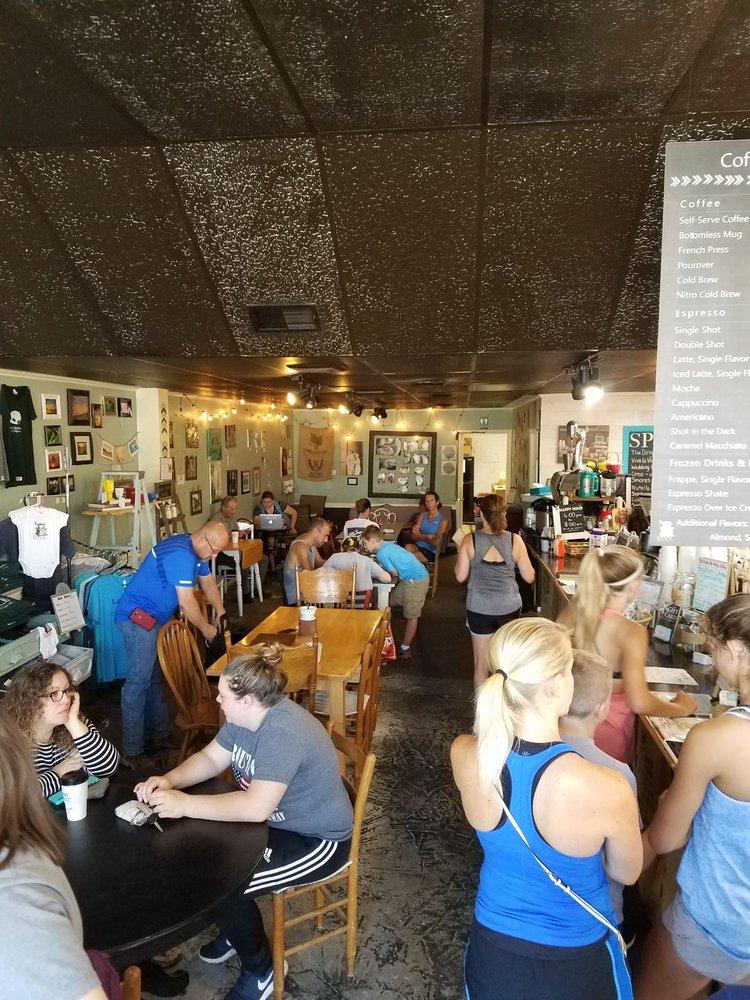 Root Coffeehouse & Creperie: 402 N Broadway, Pittsburg, KS