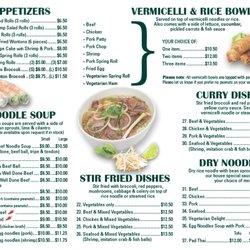 Pho Sate Restaurant Vernon Bc