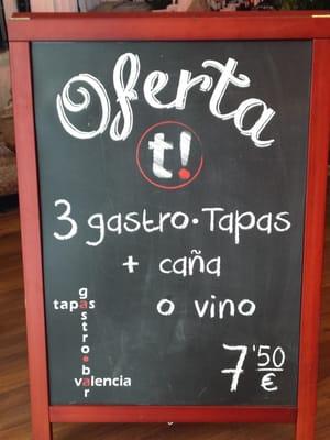 photo of tapas gastro bar valencia spain