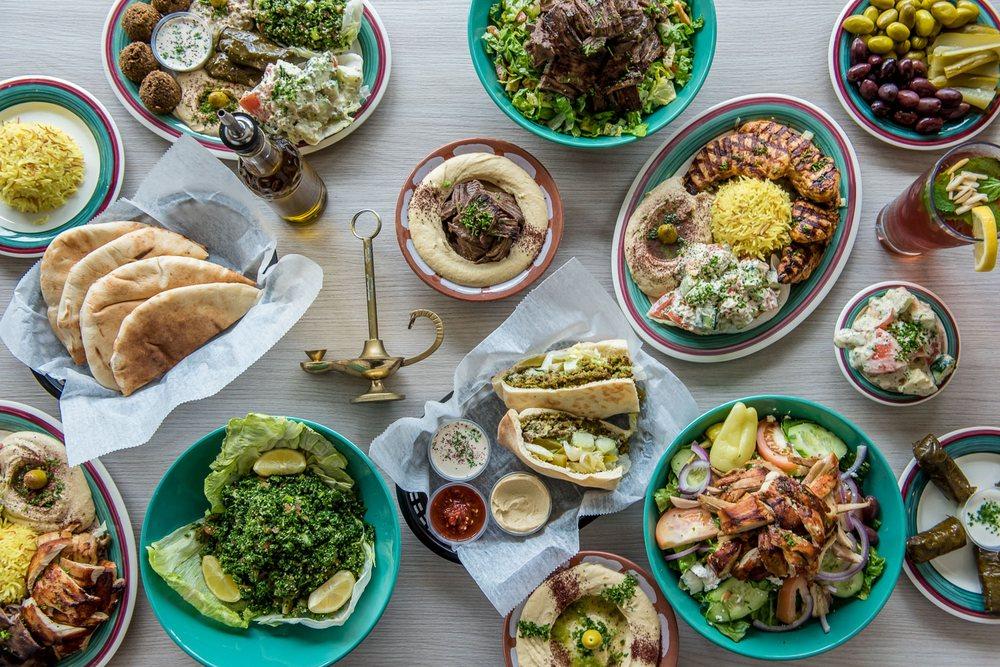 Aladdin's Mediterranean Grill: 8725 Roswell Rd, Atlanta, GA