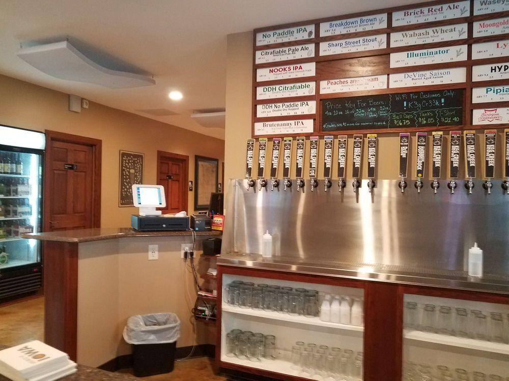 Keg Creek Brewery: 22381 221st St, Glenwood, IA