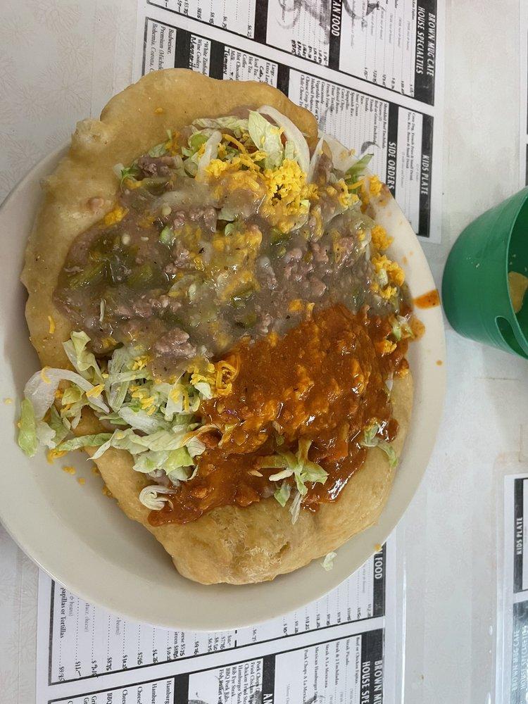 Brown Mug Cafe: 308 E Second St, Winslow, AZ