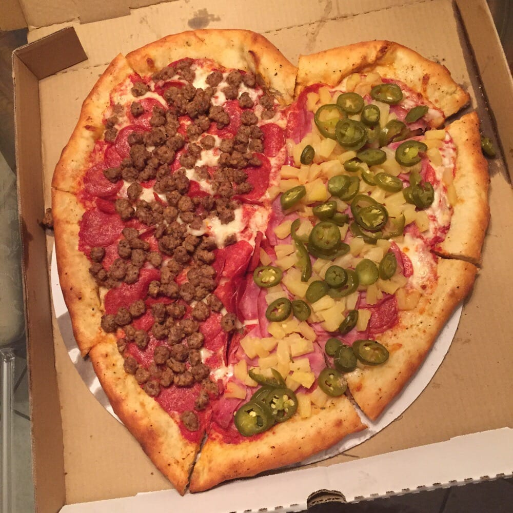 Heart Shaped Pizza, Great Idea For Any Occasion!!