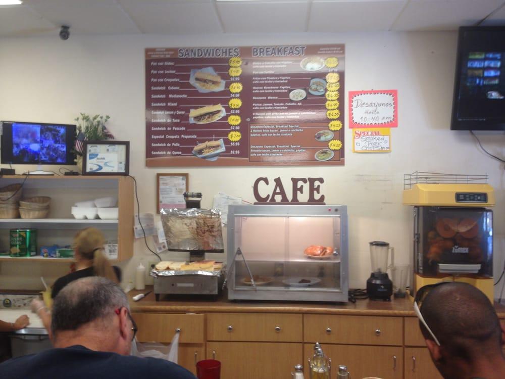 Latin Corner Cafe Hialeah Menu