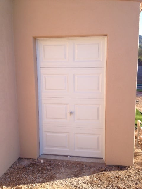 Golf cart garage door size 4 7 installed in sun city az we for Golf cart garage door