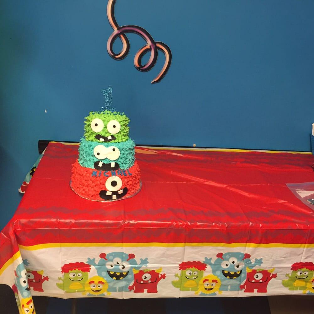 My Sons Monstrous 1st Birthday Cake