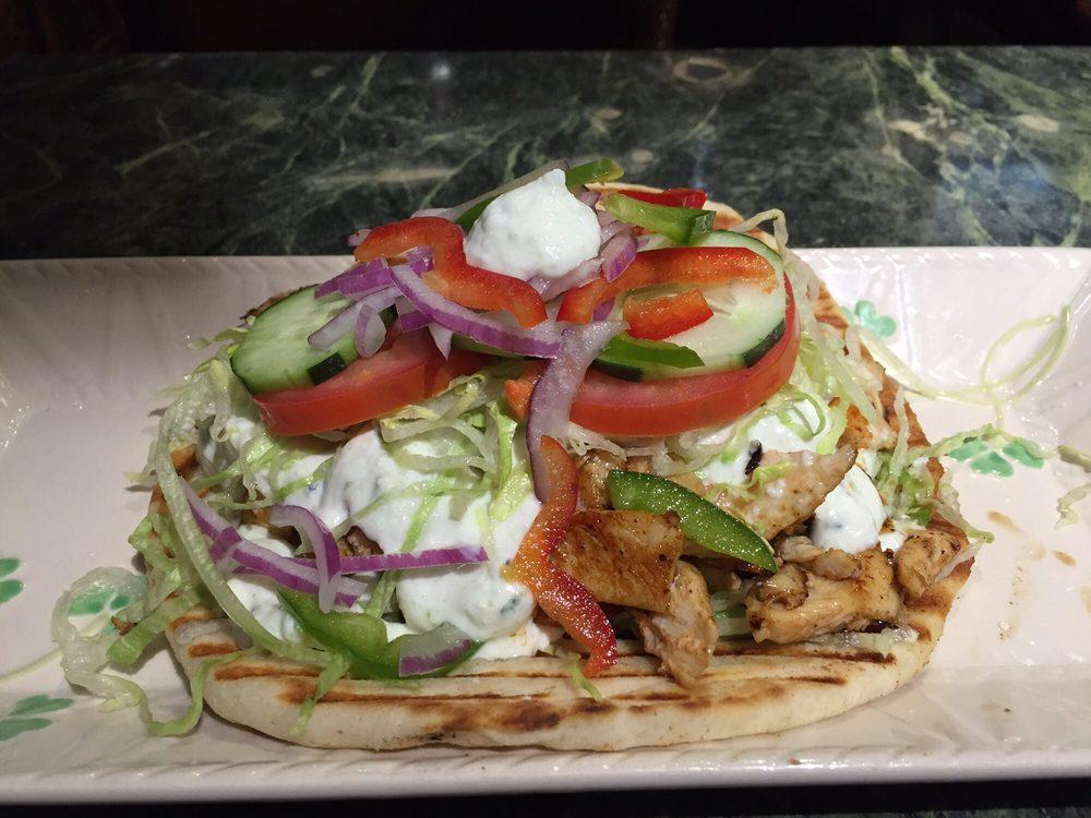 Food from Sam's Gyro