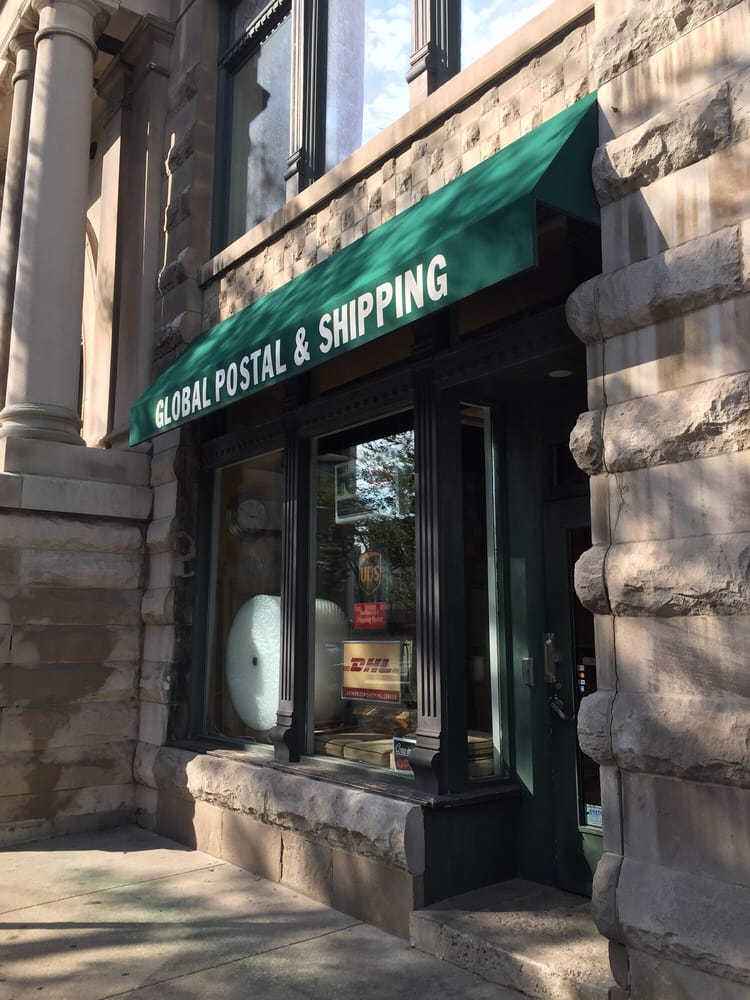 Global Postal & Shipping: 106 W Germania Pl, Chicago, IL