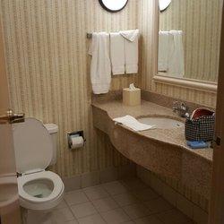 photo of hilton garden inn oklahoma city ok united states bathroom was - Hilton Garden Inn Okc