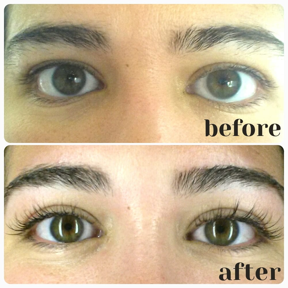 TX, United States. Eyelash Extensions: applied to each individual lash ...