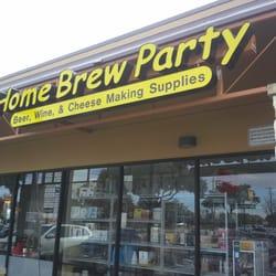 Home Brew Party logo