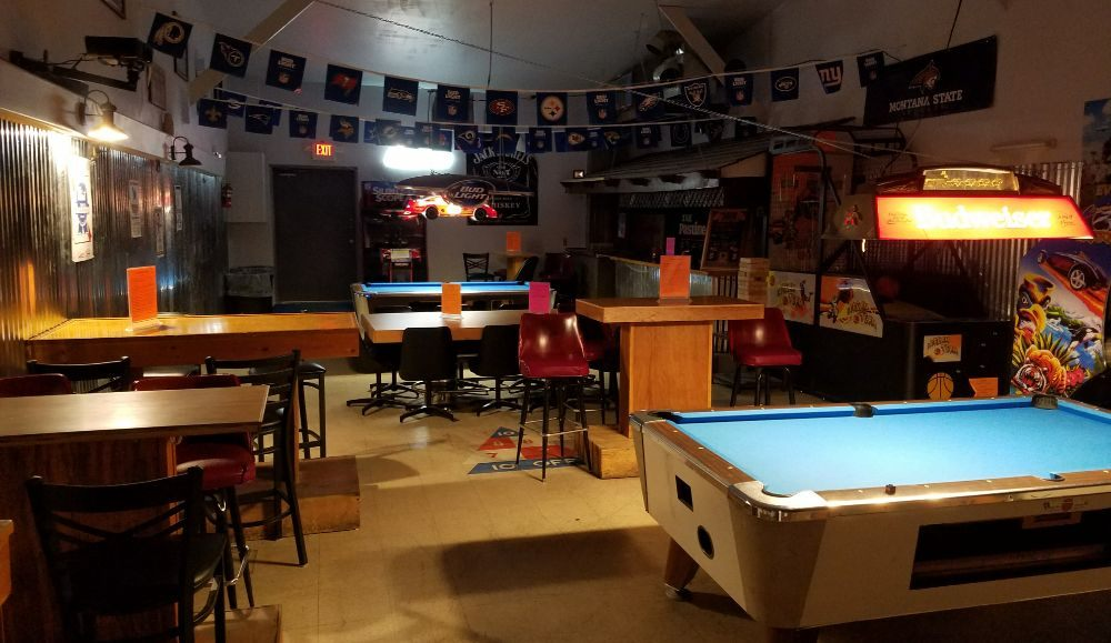 The Pastime Bar and Lounge: 218 Mineral Ave, Libby, MT