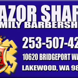 Razor Sharp Barber Shop - Barbers - 10620 Bridgeport Way SW, Lakewood ...