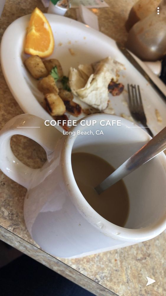 Le café tasse à café